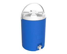 Термос диспенсер для розливу напоїв 11 л синій Kale Mazhura MZ-1011-BLUE