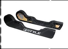 Карманы обивки двери (2 шт) ВАЗ-2101-07 под динам.R16 (черный) (Б.Ц. Автокомфорт)