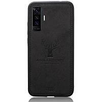 Чехол Deer Case для Vivo X50 Black
