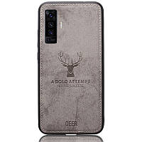 Чехол Deer Case для Vivo X50 Grey