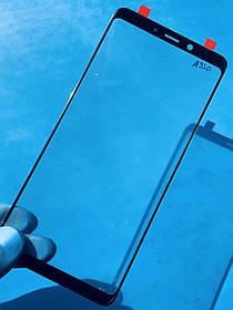 Стекло корпуса для Samsung A920 Galaxy A9 2018 черное
