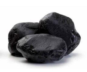 Мраморная галька черная