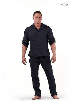 Чоловічий костюм льон 011 ДЧ