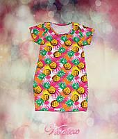 Детское платье Ананас фулликра