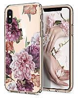 Чохол Spigen для iPhone XS / X Ciel by CYRILL, Rose Floral (063CS24937)