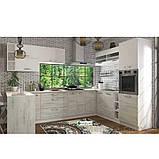 Кухня кутова «Шарлотта»   колір: дуб крафт білий/білий Sokme, фото 2