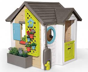 Игровой домик Садовый с аксессуарами Smoby Garden House 132 х 128,5 х 135 см 2+ 810405