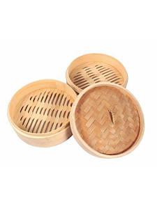 Корзина бамбуковая для димсама Empire М-5039 21 см