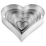 "Комплект форм для выпечки ""Сердце"" PRACTIC"