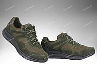 Літні полегшені кросівки / військова спецвзуття APACHE (olive), фото 1
