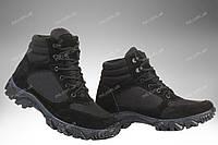 Военные демисезонные ботинки / тактическая, армейская спец обувь CYCLON (black), фото 1