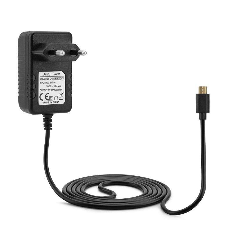 Блок питания micro USB 220В -  5В 3А