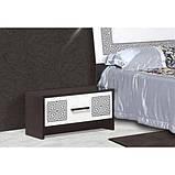 Тумба приліжкова в спальню з ДСП Бася Нова Олімпія Світ меблів, фото 2
