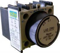 Блок задержки БЗ-11 (LA3-DR0) (0,1-3,0с Выкл)