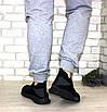 Кроссовки мужские черные (размеры 40, 41, 42, 43), фото 8