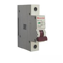 ElectroHouse Автоматичний вимикач 1 полюс 10А