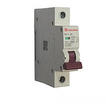 ElectroHouse Автоматичний вимикач 1 полюс 25А