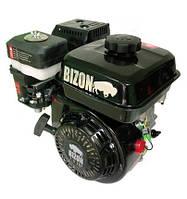 Двигатель бензиновый BIZON 170F (под шпонку, 7 л.с.,+двухручейный шкив)