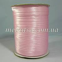Косая бейка, атласная, цвет св.розовый