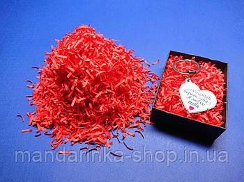 Наповнювач для коробок червоний