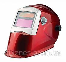Маска сварщика Apache Rapid Crystals красная