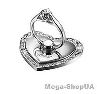 Кольцо держатель подставка металлическое popsocket для телефона смартфона. Тримач-кільце для смартфона M002S