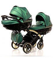 Дитяча коляска для двійні Junama Diamond Fluo Duo Slim, фото 1