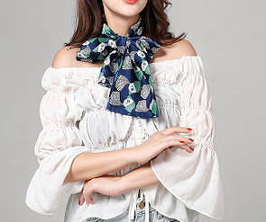 Хустинка стрічка стрічка шарфик хустку на голову для волосся, на шию, на руку, на сумку