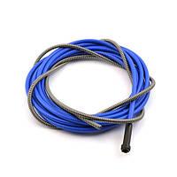 Спираль подающая синяя d-3,0/6,4/L-540мм для проволоки d-2,0-2,4мм