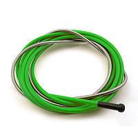 Спираль подающая зелёная d-3,0/5,0/L-440мм для проволоки d-2,0-2,4мм