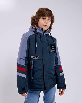 Рофл зеленая детская подростковая куртка на мальчика весна осень