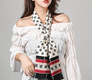 Хустинка стрічка лента шарфик платок на голову для волос, на шею, на руку, на сумку
