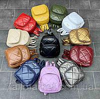 """Рюкзак жіночий маленький на блискавці, розмір 28*22 см (12кол) """"David Bags"""" недорого оптом від прямого постачальника"""