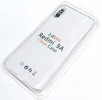 Чохол 2 мм для Xiaomi Redmi 9A прозорий силіконовий Silicone Case Clear 2.0 mm
