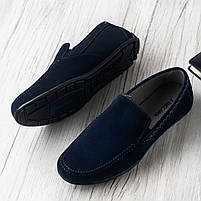 Туфли мужские 8 пар в ящике темно-синего цвета 40-46, фото 2