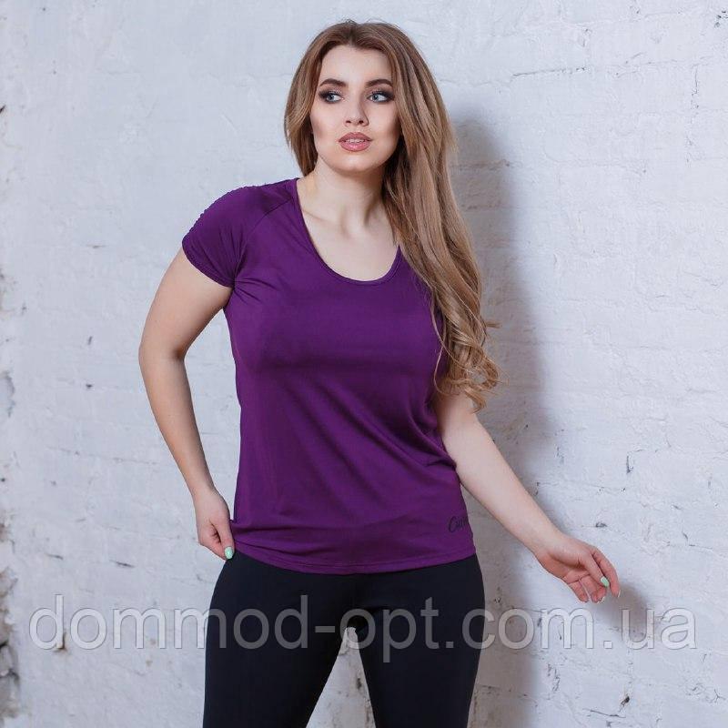Женская спортивная футболка модель #38 (р.48-54)