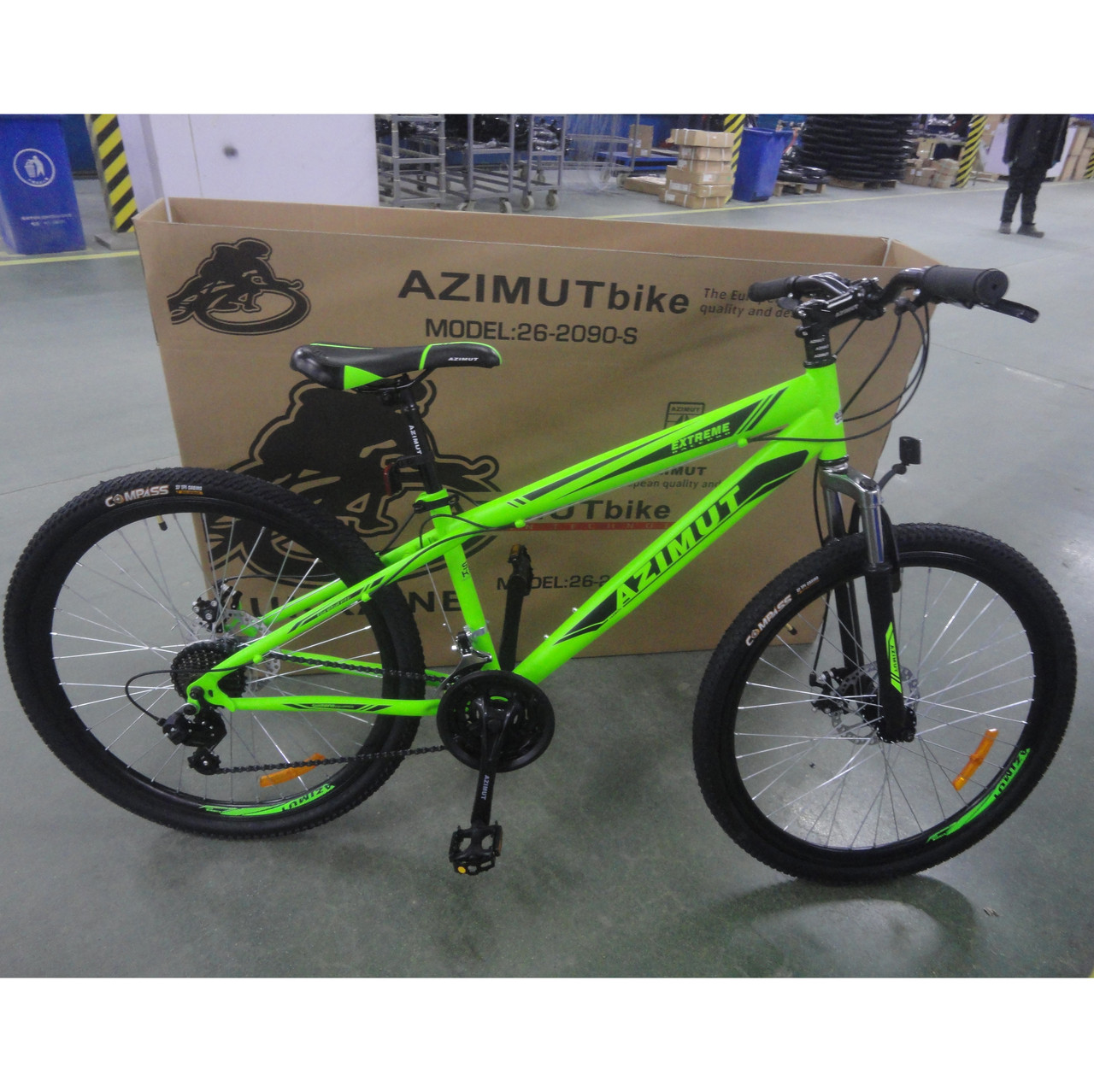 Велосипед Azimut Extreme Шимано GFRD 26 х 14