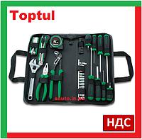 Toptul GPN-043A. Набор слесарных инструментов, для дома, ремонта, домашний, универсальный, ручной, домашнего