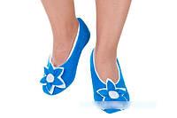 Флисовые тапочки-балетки  с 33 по 45 размер