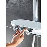 Душова система з термостатом Grohe Rainshower SmartControl 26250000, фото 4