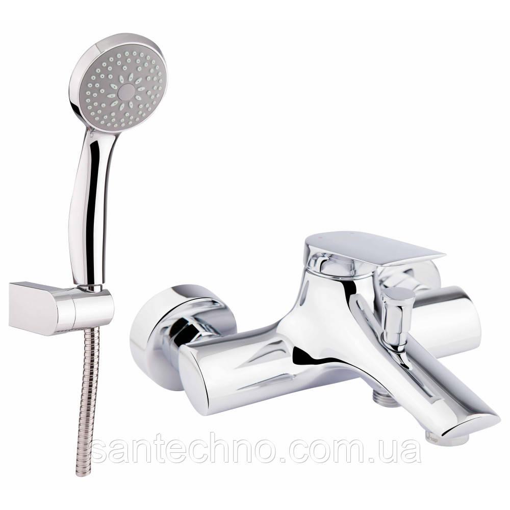 Змішувач для ванни і душа Q-tap Elegance CRM 006