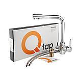 Комбінований змішувач для кухні з фільтром Q-tap Form CRM 007F-2, фото 8