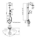 Душова система Qtap CRM 1006, фото 2