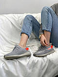 Adidas Yeezy Boost 350 Tail Light (серые), фото 3