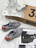 Adidas Yeezy Boost 350 Tail Light (серые), фото 8