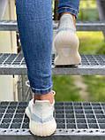 Adidas Yeezy Boost 350 Cloud White (белые), фото 3