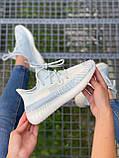 Adidas Yeezy Boost 350 Cloud White (белые), фото 5