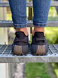 Adidas Yeezy Boost 350 Cinder (коричневые) (Reflect), фото 6