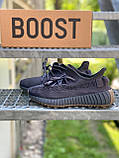 Adidas Yeezy Boost 350 Cinder (коричневые) (Reflect), фото 9