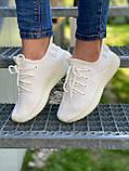 Adidas Yeezy Boost 350 Cream White (белые), фото 6